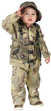 Delta Force Authentic Infants Costume Camo Shirt Army Uniforms Funworld Toddlers