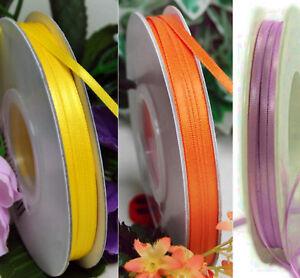 3,50m Satinband 3 mm breit doppelseitig (0,29€/m)