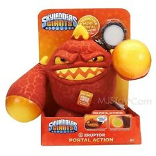"NEW Skylanders Giants ERUPTOR Portal Action Talking Sound Glow 10"" Plush Doll"