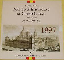 España 1997 Coleccion de Monedas Españolas De Curso Legal FNMT Pesetas