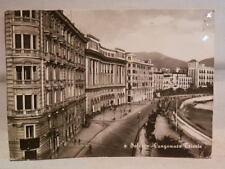 LUNGOMARE TRIESTE PALAZZO DEL COMUNE Vecchia Cartolina di Salerno Municipio 1959