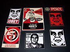Shepard Fairey Obey Giant Sticker Set De 9-Esmalte de sedación de millones