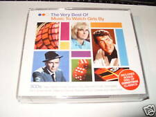 The Very Best Of Music To Watch Girls By  3 cd  NEW !! /not sealed