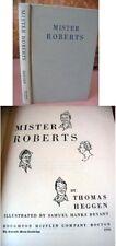 MISTER ROBERTS,1946,Thomas Heggen,1stEd.,Illust.