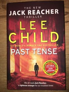 Lee Child Signed Copy Past Tense Waterstones Exclusive Jack Reacher