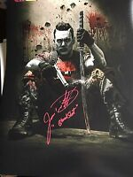 Bloodshot Jason David Frank Signed 11x14 Photo Autograph Power Rangers