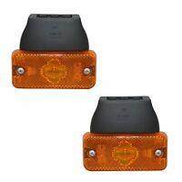 2 CLIGNOTANTS DUCATO JUMPER BOXER APRES 06/2006 DROIT + GAUCHE ORANGE + SUPPORT