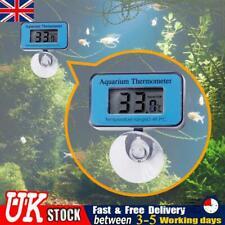 More details for uk lcd digital thermometer fish tank aquarium submersible underwater temp meter
