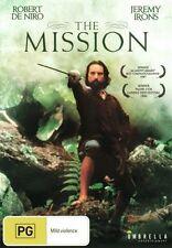 The Mission (DVD) Robert De Niro Jeremy Irons [Region 4] NEW/SEALED