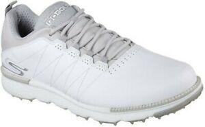 Skechers Go Golf Elite V.3 Men's Golf Shoes 54540 White Gray 8 Medium