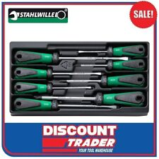 Stahlwille Screwdriver Set 3K DRALL 8 Piece 5 Slot / 3 Phillips 4892 96489210