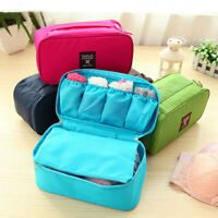Portable travel protect bra underwear lingerie case organizer bra storage bag BP