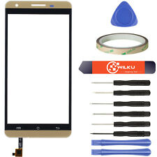 Cubot X15 Digitizer Gold ● Display Touchscreen Scheibe Frontglas LCD Glas