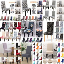 Elastic Slipcover Non-slip Seat Cover Chair Protective Removable For Wedding HOT