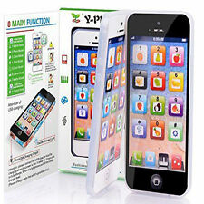 YPhone Music Cell Phone Simulator Touch Screen Educational Learning Toy Baby US