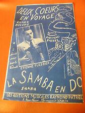 Partition Deux hearts in voyage La samba in c Etienne Butler
