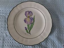 Studio 21 Iris Plate Grindley of Stoke