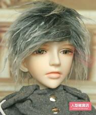 BJD doll wig hair 8-9 inch 20-22cm 1/3 BJD DOLL SD Fur Wig Dollfie Grey