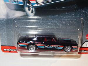 HOT WHEELS PREMIUM CAR CULTURE POWER TRIP BLACK 1968 PLYMOUTH BARRACUDA HEMI