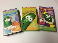 VeggieTales lot of 3 VHS RARE The End of Silliness Very Silly Songs King George
