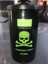 ☆☆FORBIDDEN APPLE☆☆YANKEE CANDLE MED PILLAR~FREE SHIPPING☆☆HALLOWEEN 2017