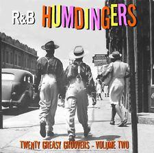 R&B HUMDINGERS VOL 2 - RARE DANCE FLOOR GROOVERS FROM THE 50's & 60's - LISTEN!