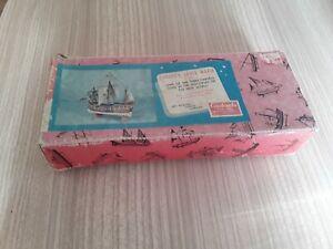 Vintage UNUSED carabela Santa Maria R-412 model kit maritime series CONSTRUCTO
