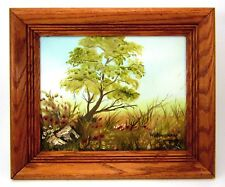 Original Oil on Canvas Landscape Painting by Listed Artist K. Willingham Signed