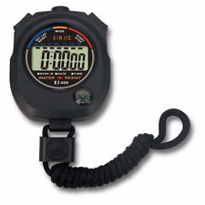 Counter Timer Hour Meter Chronograph Alarm Stopwatch Waterproof Sports Outdoor