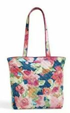 NWT Vera Bradley Iconic Tote & Luggage Tag in Superbloom  MSRP $72