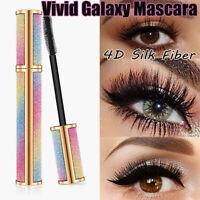 Vivid Galaxy Mascara 4D Silk Fiber Lashes Waterproof Thick Lengthening Mascara