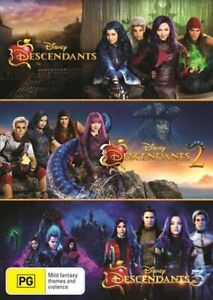 Descendants 1 2 3 Trilogy Disney BRAND NEW Region 4 DVD