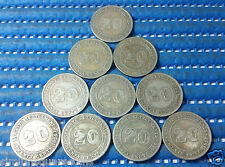 1926 Straits Settlements 20 Cents Silver Coin (Price Per Piece)