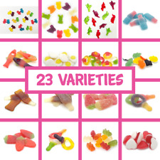 Haribo  Jelly Gum Sweets Gummy Retro Candy Gift Traditional Pick n Mix