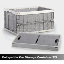 White Crate Car 32L Archive Box Instacrate Collapsible Folding Storage Container