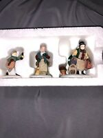 DEPT.56  HERITAGE VILLAGE COLLECTION - COME INTO THE INN  #5560-3  SET OF 3