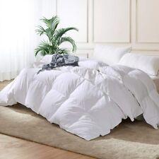 Dorrin Nessin Luxury King Size Hungarian Goose Down Comforter Duvet Insert, 1200