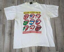 VTG 1994 Rolling Stones Voodoo Lounge Concert Tour Shirt Large Brockum