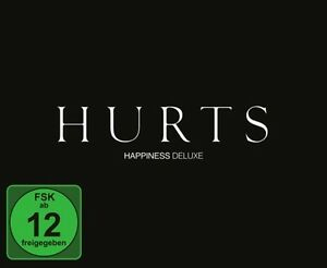 HURTS - HAPPINESS CD+DVD DELUXE EDITION NEU