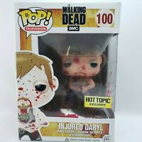 Funko POP! The Walking Dead Figure INJURED DARYL DIXON #100 Hot Topic Exclusive