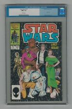 Star Wars #107 CGC 9.2 NM- Old Label White Pages Last Issue Marvel Comics 9/86