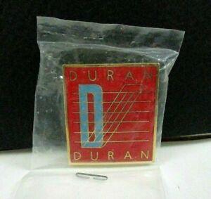 "Duran Duran SEVEN AND THE RAGGED TIGER, 1""x1"" Metal Pin Back, EMI PROMO (1983)"