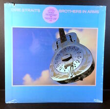 DIRE STRAITS Brothers In Arms LP Vintage STILL SEALED 80's Press w/HYPE STICKER