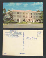 1970s NEW PERRY HOTEL PERRY GA POSTCARD