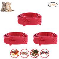 Adjustable Nylon Anti Flea Tick & Louse Pet Cat Dog Collar Protection Neck Ring