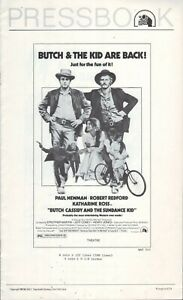 Butch Cassidy and the Sundance Kid (1969) Pressbook - free shipping