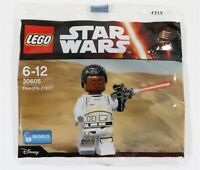 NEW LEGO STAR WARS FIRST ORDER FINN FN-2187 MINIFIGURE POLYBAG 30605 - SEALED