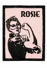 Artist Dave Cherry Rosie Embroidered Iron On Applique Badge Patch FD