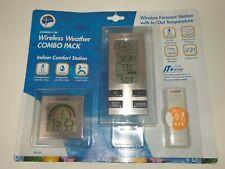 KCOMBO6-IT La Crosse Technology Wireless Forecast Weather Station Combo Pack