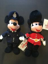 The Disney Store Palace Guard Mickey and Policeman Mickey
